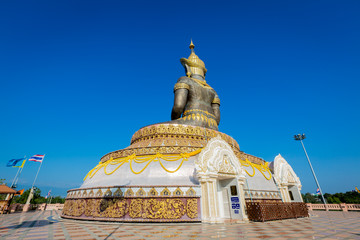 Buddha mahatammaracha statue in Phetchabun Thailand.