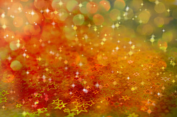 blurred colorful background