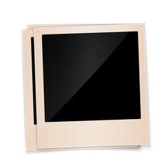 old polaroid photo frame