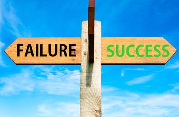 Failure versus Success messages, Success conceptual image