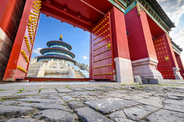 Beijing, China at Temple of Heaven