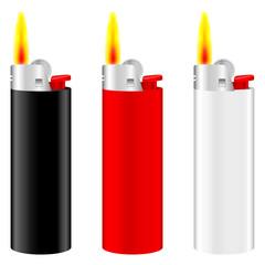 lighter fire