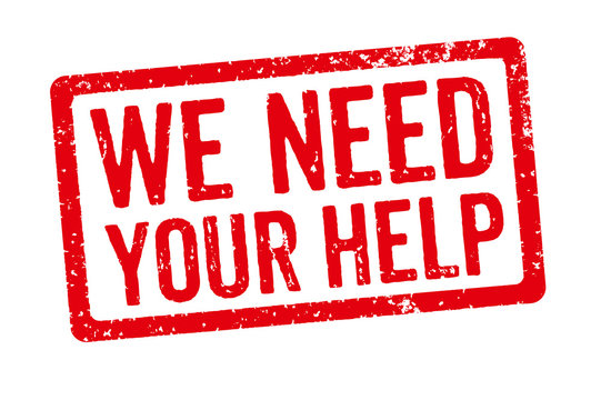 Red Stamp - We need your help