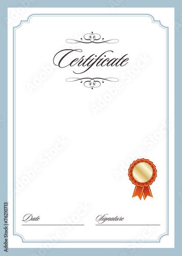 Certificate template fotolia certificate template yelopaper Images