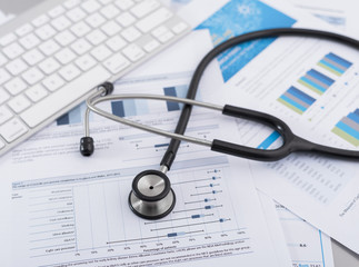 Stethoscope with financial