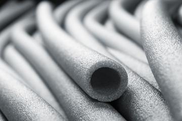 Obraz Insulation for pipes closeup - fototapety do salonu