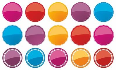 Obraz Color Price tags - fototapety do salonu