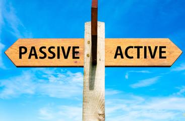 Passive versus Active messages