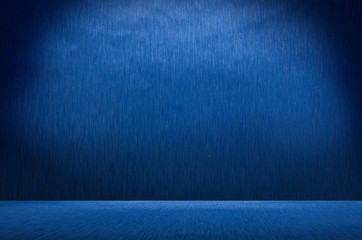 Abstract blue metal background texture