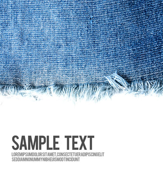 Jeans background texture with blank space