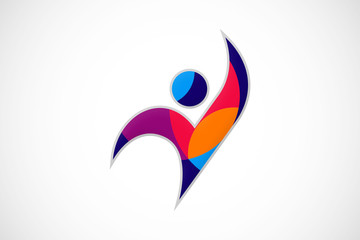 active people color logo