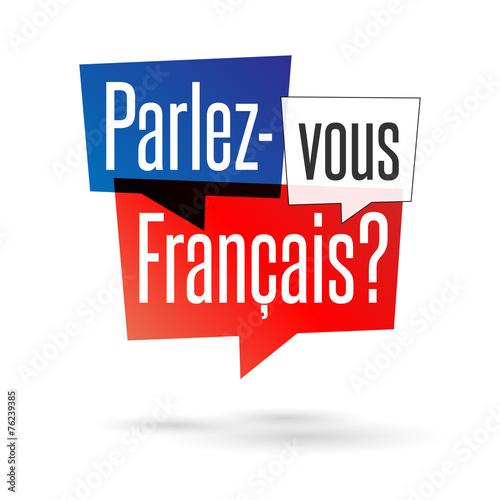 Resultado de imagem para parlez vous français