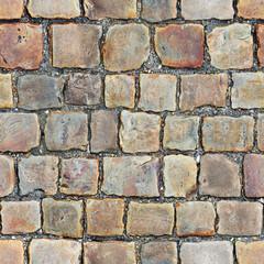 Seamless texture of stone floor