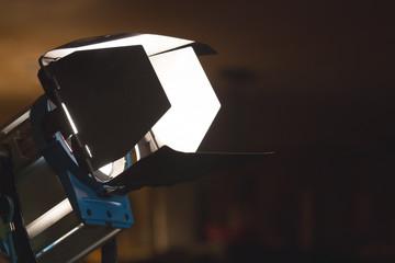 Movie reflector lighting equipment.