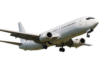 Garden Poster Airplane Landing plane