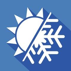 Logo chaud froid.