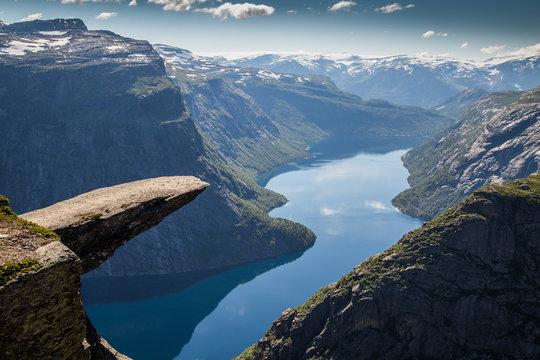 Trolltunga Norwegen