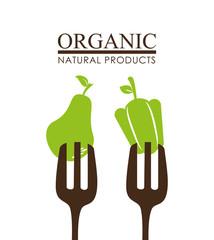 Food design, vector illustration