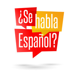 ¿Se habla español ?