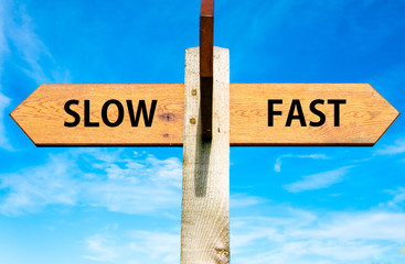 Slow versus Fast