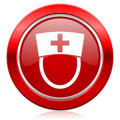 nurse icon hospital sign
