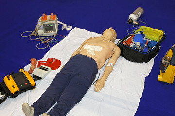 Emergency dummy equipment