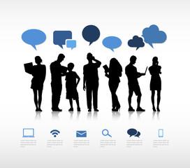 Social Gathering Network People Internet Media Concept