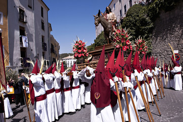 Processions of Nazarenos in Easter Holy Week, Spain