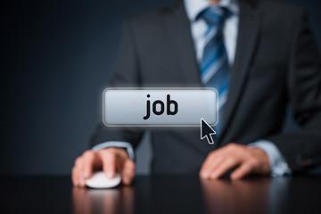 Find job concept
