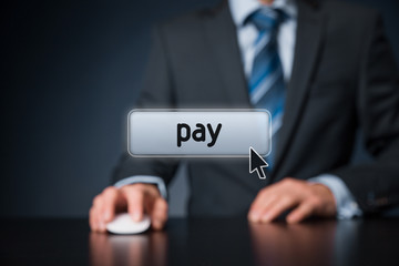 Pay concept