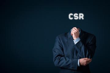 CSR concept