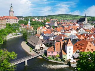 town Cesky Krumlov (UNESCO), South Bohemia, Czech republic
