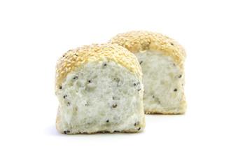 Whole grain healthy bread sliced for breakfast