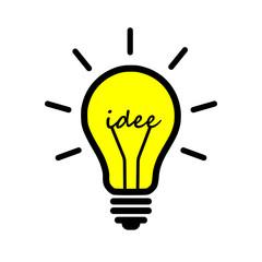 Glühbirne, Idee