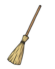 brown broom