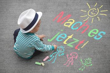 Kinderzeichnung - Mach es jetzt!