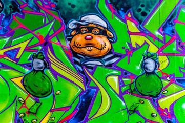 graffiti braqueur