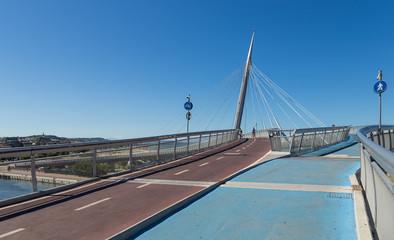 bridge in Pescara, Abruzzo, Italy