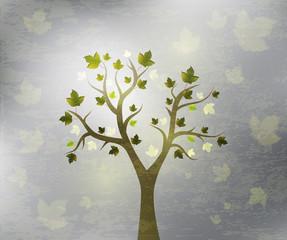 beautiful tree design background
