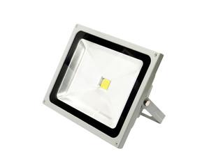 LED spotlight isolated on white background.