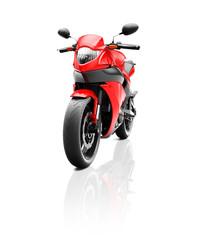 Illustration of Transportation Sport Motorbike Racing Concept