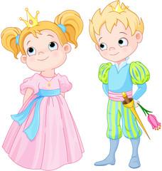 Canvas Prints Fairytale World Prince and Princess