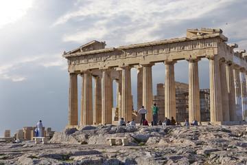 Acropolis of Athens Greece, Parthenon ancient temple