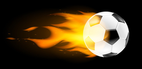 Ballon de football vectoriel 3