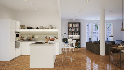 Apartment in Innenstadt - penthouse downtown