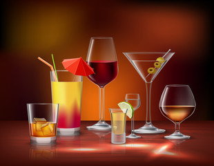 Drinks Decorative Set