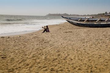 Strand von Sierra Leone