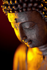 Poster Buddha Buddha statur glaube