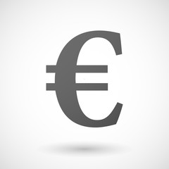 currency  icon on white background
