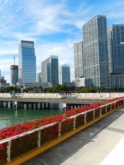 Brickell Key and Brickell Key Drive